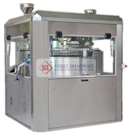Double Sided Rotary Tablet Press Machine, Tablet Compression Machine Manufacturers & Exporters from India