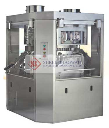 Double Sided Rotary Tablet Press,  Pharma Tablet Compression Machine Manufacturers & Exporters from India