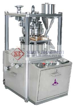 Rotary Tablet Press – 8 Stations Tableting Machine Manufacturers & Exporters from India