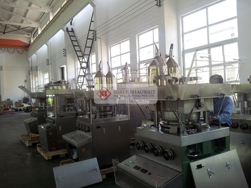 Production And Assembly For Rotary Tablet Press Machine