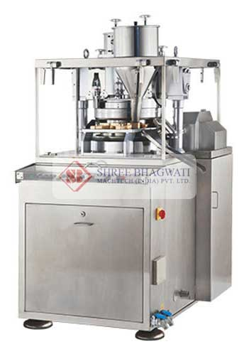 Single Rotary Tablet Compression Machine Manufacturers & Exporters from India