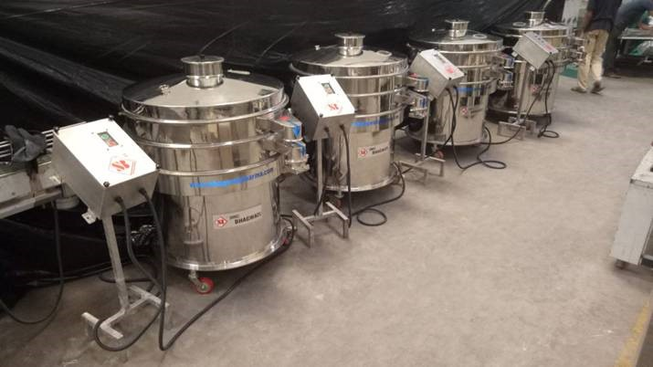 Vibro Sifter with Multi Mill & Exporters from India